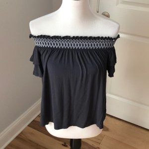 AEO Soft and Sexy Off Shoulder Top